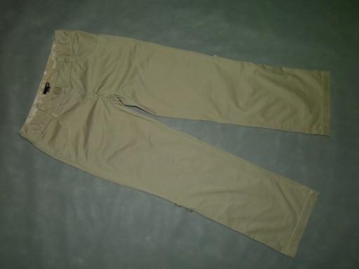 7F-- H&M spodnie bawełna roll up / 40