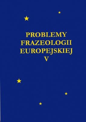 Problemy Frazeologii Europejskiej, tom V