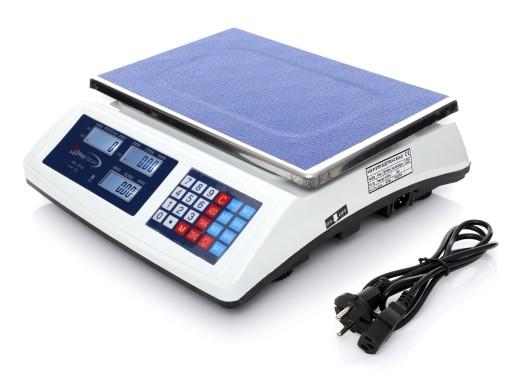 Waga Sklepowa 50kg 5g Elektroniczna Magazynowa 7070754235 Allegro Pl