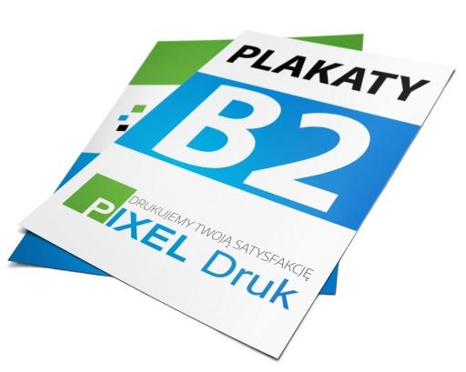 Plakaty Plakat B2 10sztjakość Foto 180gdruk 24h