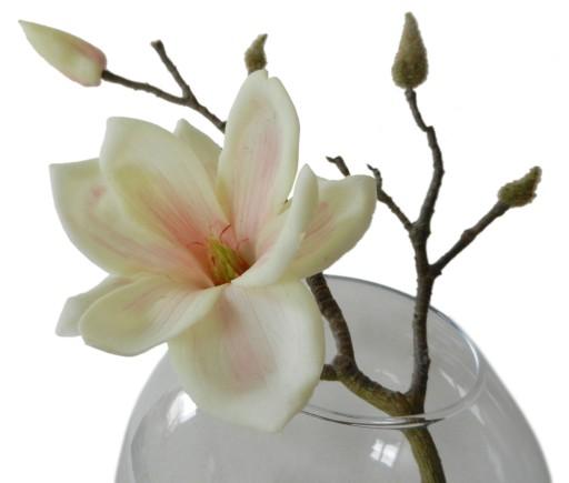 Magnolia Wazon Ekskluzywne Kwiaty Sztuczne Art Ros 7242223924
