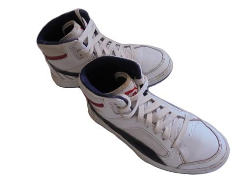 Skórzane buciki firmy Puma. Rozmiar 35.