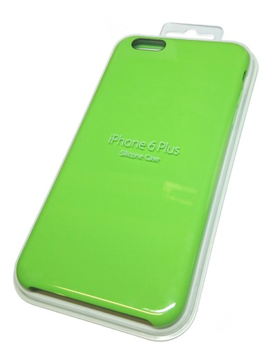 low priced 35427 87286 Apple Etui do iPhone 6 Plus Silicone Case Green