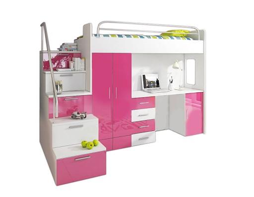 Antresola łóżko Piętrowe Szafa Schody 7830505292 Allegropl