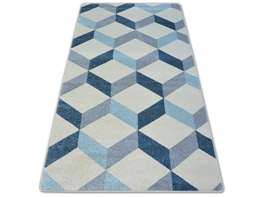 Dywany łuszczów Nordic 240x330 Kostka 3d A028