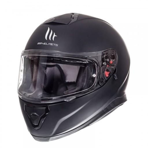 Kask Mt Helmets Thunder 3 Sv Czarny Mat Blenda S Grojec Allegro Pl