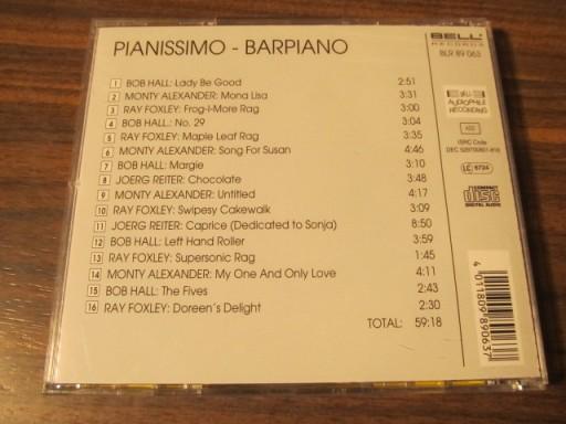 PIANISSIMO - BAR-PIANO (CD)X