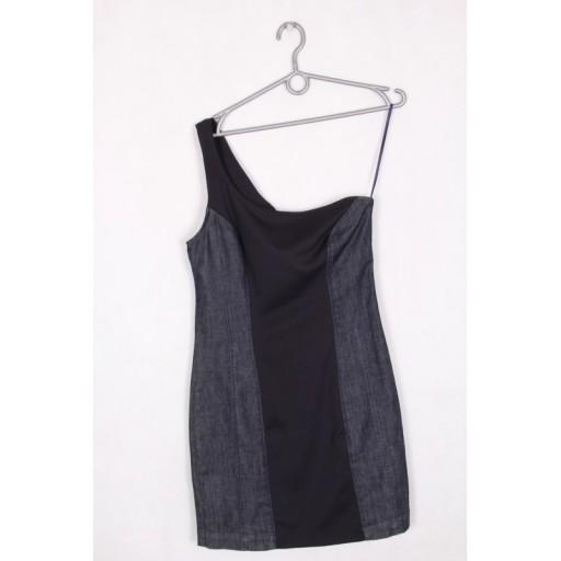 ad8a14424356b5 Miss Sixty jedno ramię denim sukienka 40 L lato 7450530722 - Allegro.pl -  Więcej niż aukcje.