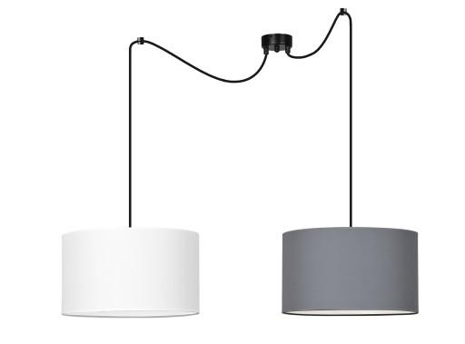 LAMPA WISZĄCA ABAŻUR MATERIAŁ ROTO LED od EMIBIG