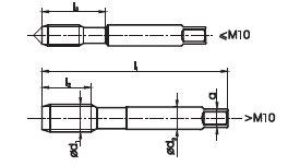 Gwintownik RĘCZNY DIN-2182 M42x2 HSS FANAR