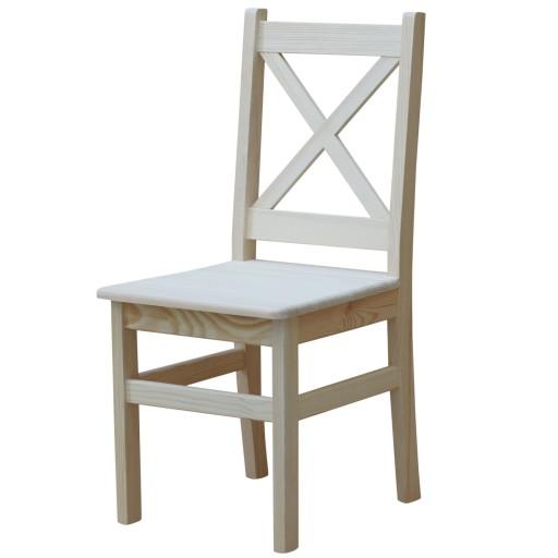 krzesła sosnowe