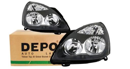 Depo Reflektory Lampy Renault Clio 2 Nowe Lp Kpl