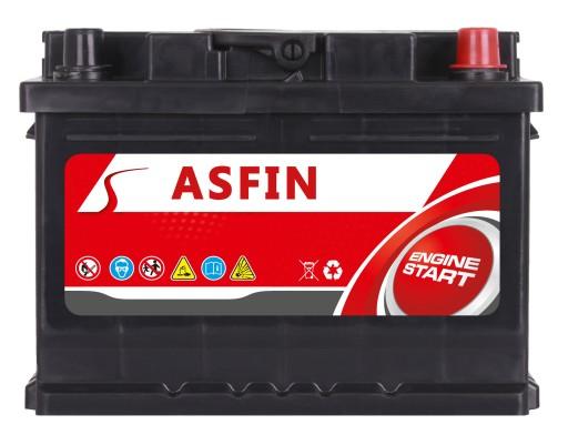 AKUMULIATORIUS ASFIN 12V 60Ah 570A (EN) ALFA,AUDI,BMW