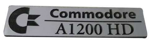 Badge sticker znaczek Amiga 1200HD