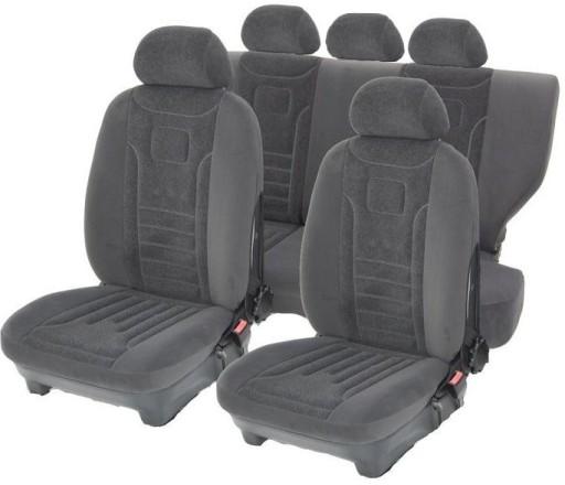Welur Lux Pokrowce Na Fotele Samochodowe Welurowe Olawa Allegro Pl