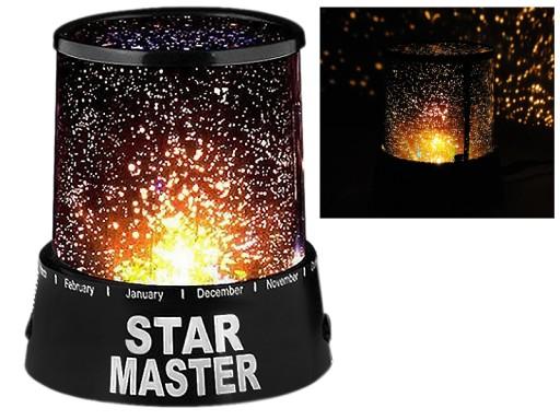 Lampka nocna STAR MASTER projektor GWIAZD KOSMOS
