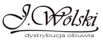 NOWOŚĆ J.WOLSKI CZARNE SPORTOWE PÓŁBUTY SKÓRA r.39