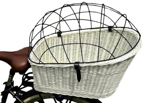 Koszyk Wiklinowy Kosz Na Rower Bagaznik Dla Psa 7197629319 Allegro Pl