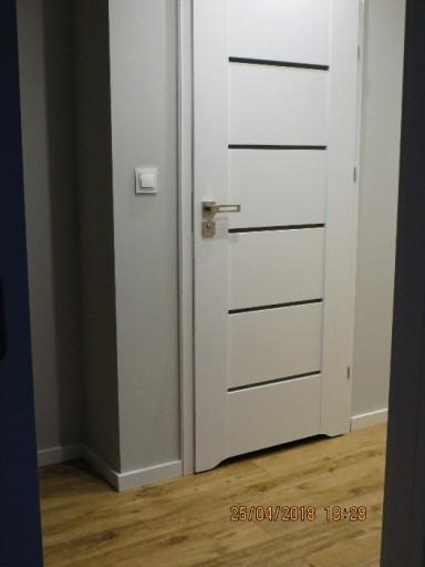 Drzwi Dre Auri Białe Z Ościeżnica Regul 95 115