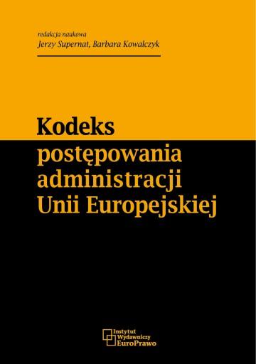 Kodeks postępowania administracji Unii Europejskie