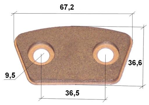 SPIEK APSAUGOS SANKABA 67,2x36,6x3,6 X00274