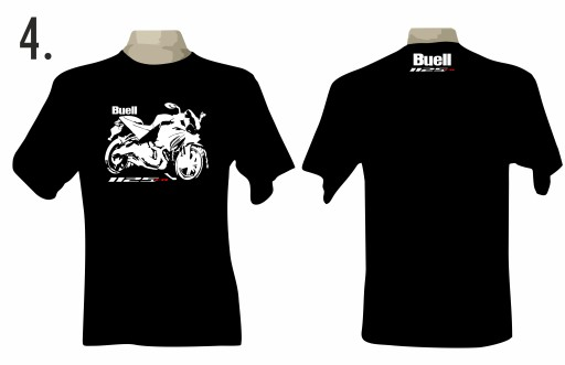 T-shirt koszulka motocyklowa buell 1125CR