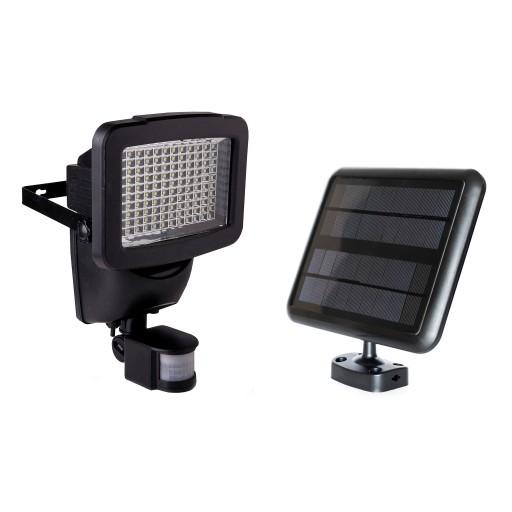 Lampa Solarna 120 LED CZUJNIK RUCHU LUB ZMIERZCHU