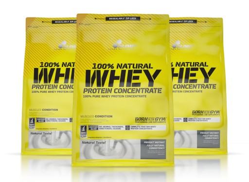 8cff92fd1f OLIMP 100% Whey Protein Concentrate 2100g WPC80 6234893490 - Allegro.pl