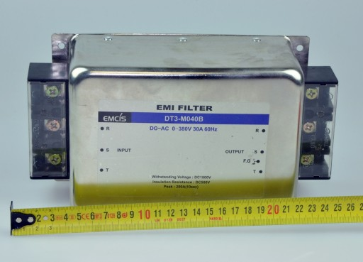 DT3-M040B EMCIS Filtr EMI trójfazowy 30A