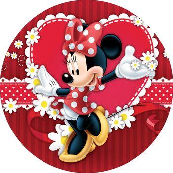 Opłatek Na Tort 20 Cm Myszka Minnie Urodziny 6744112130 Allegropl