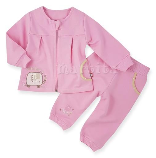 Dres Komplet Bluza + Spodnie Nowy 100% bawełna 80