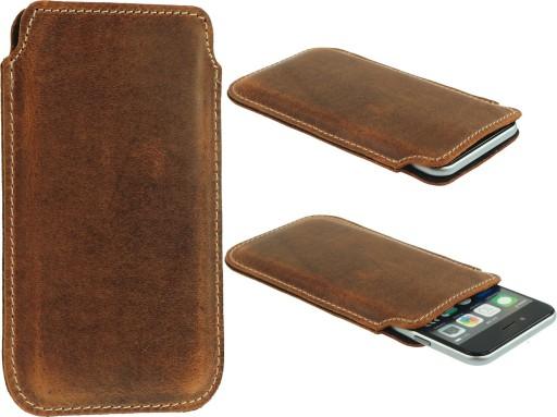 Slim Bcr Skórzane Etui Do Samsung Galaxy S10+
