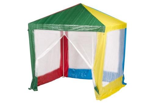 Namiot pawilon domek dla dzieci z moskitierą