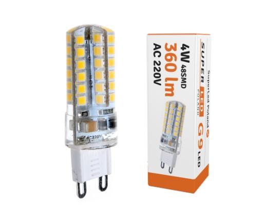 Żarówka LED G9 360lm 4W=40W 220V ciepła (6557171421) - Allegro.pl ...