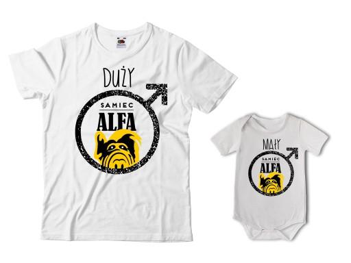 Zestaw Meska Koszulka Dla Taty I Body Dla Syna 7258853981 Allegro Pl
