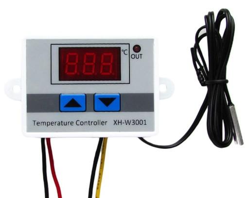 REGULATOR TEMPERATURY CYFROWY TERMOSTAT 110°C 230V
