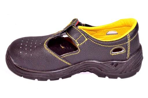Sandały buty robocze bez stalowych noskÓw skÓra 43 10720486807 Obuwie Męskie Męskie XP VJILXP-2