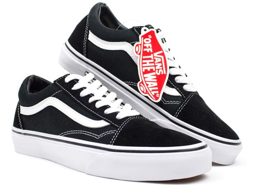 vans old skool damskie white