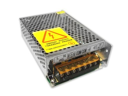 Zasilacz modułowy 12V 100W 8,3A taśma LED CCTV RTV