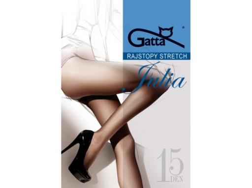 Rajstopy GATTA stretch Julia kolory 15den 5(XL)