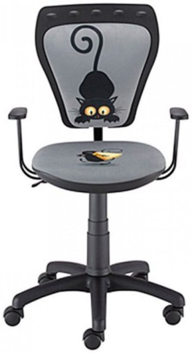 MINISTYLE KOT I MYSZ krzesło biurowe Nowy Styl 24H