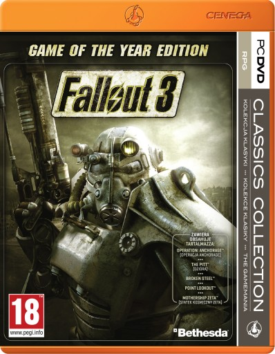 Fallout 3 Game Of The Year Edition (PC) PL