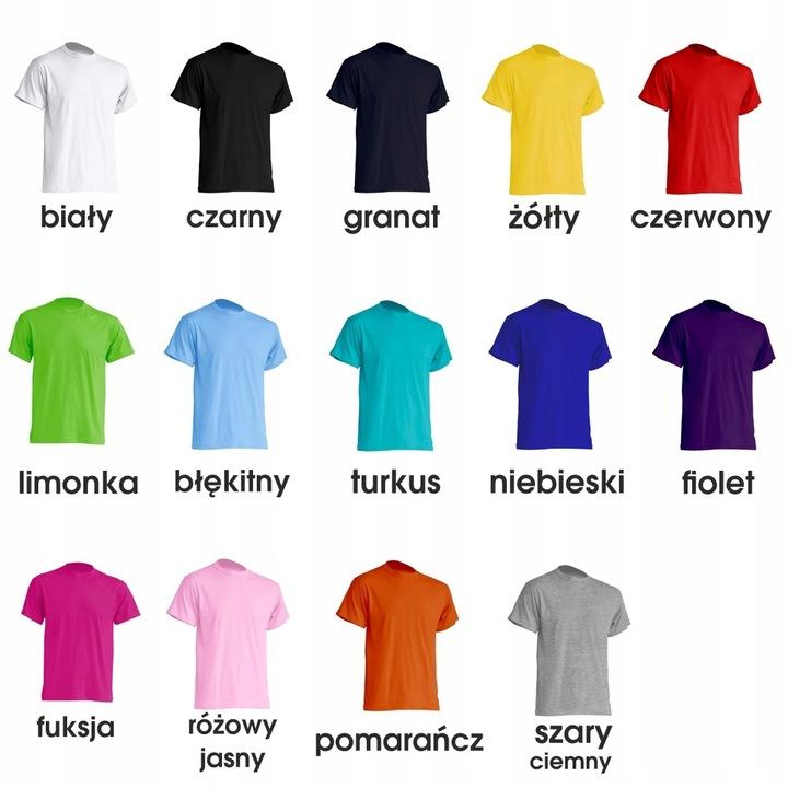 Koszulka DZIECIĘCA T-shirty JHK 2 lata 98cm kolory 7604830433 Dziecięce Odzież VJ AFUGVJ-5